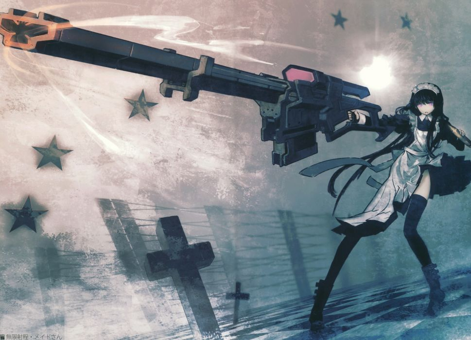 Black Rock Shooter Anime wallpaper