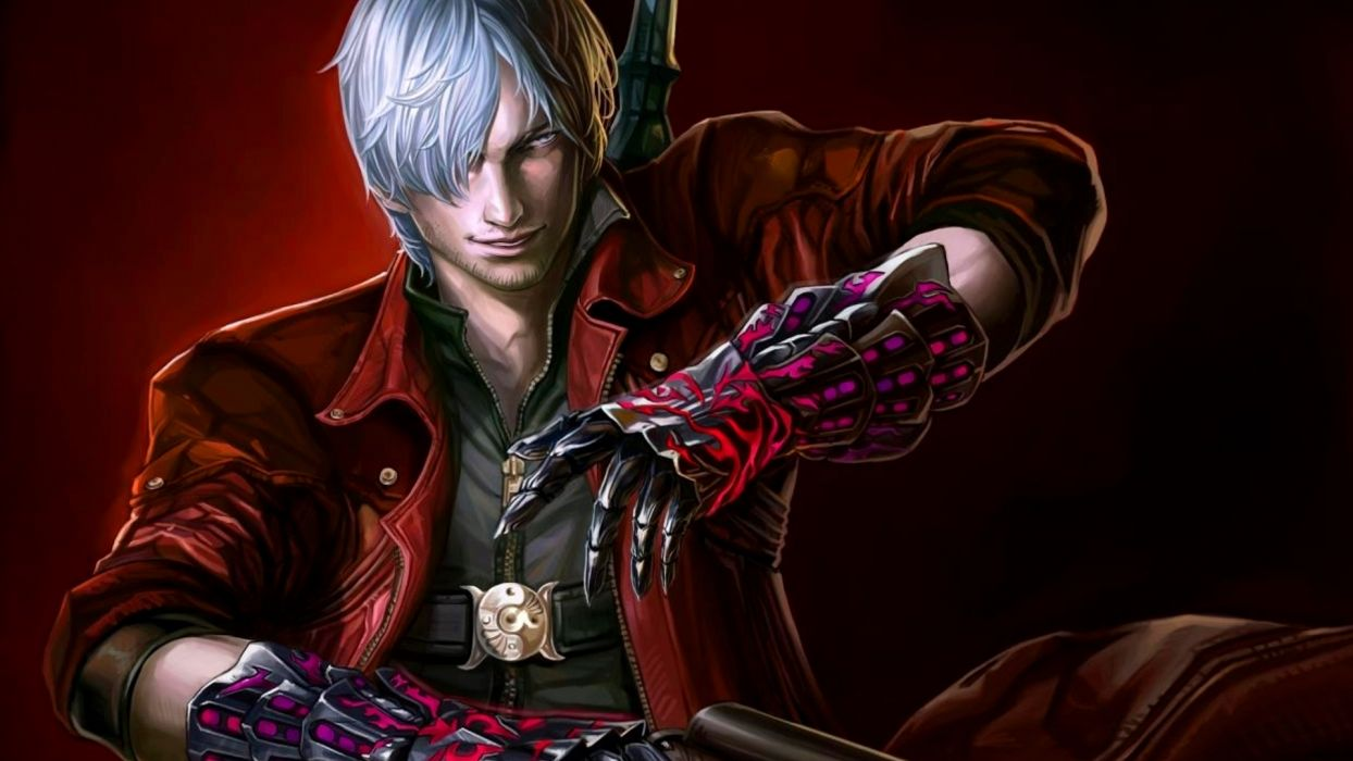 Devil May Cry Dante Wallpaper 1920x1080 100546 Wallpaperup