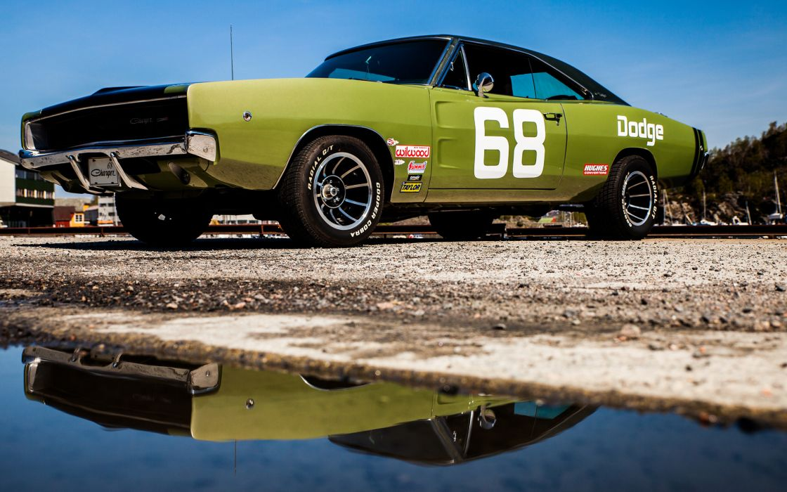 Dodge Charger Classic muscle hot rod rods wallpaper