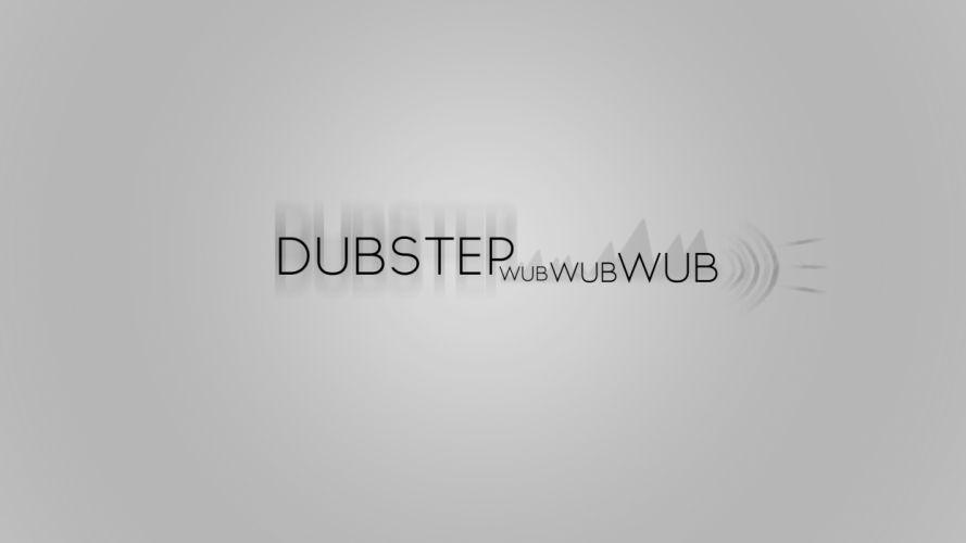 Dubstep Wub Gray Grey wallpaper