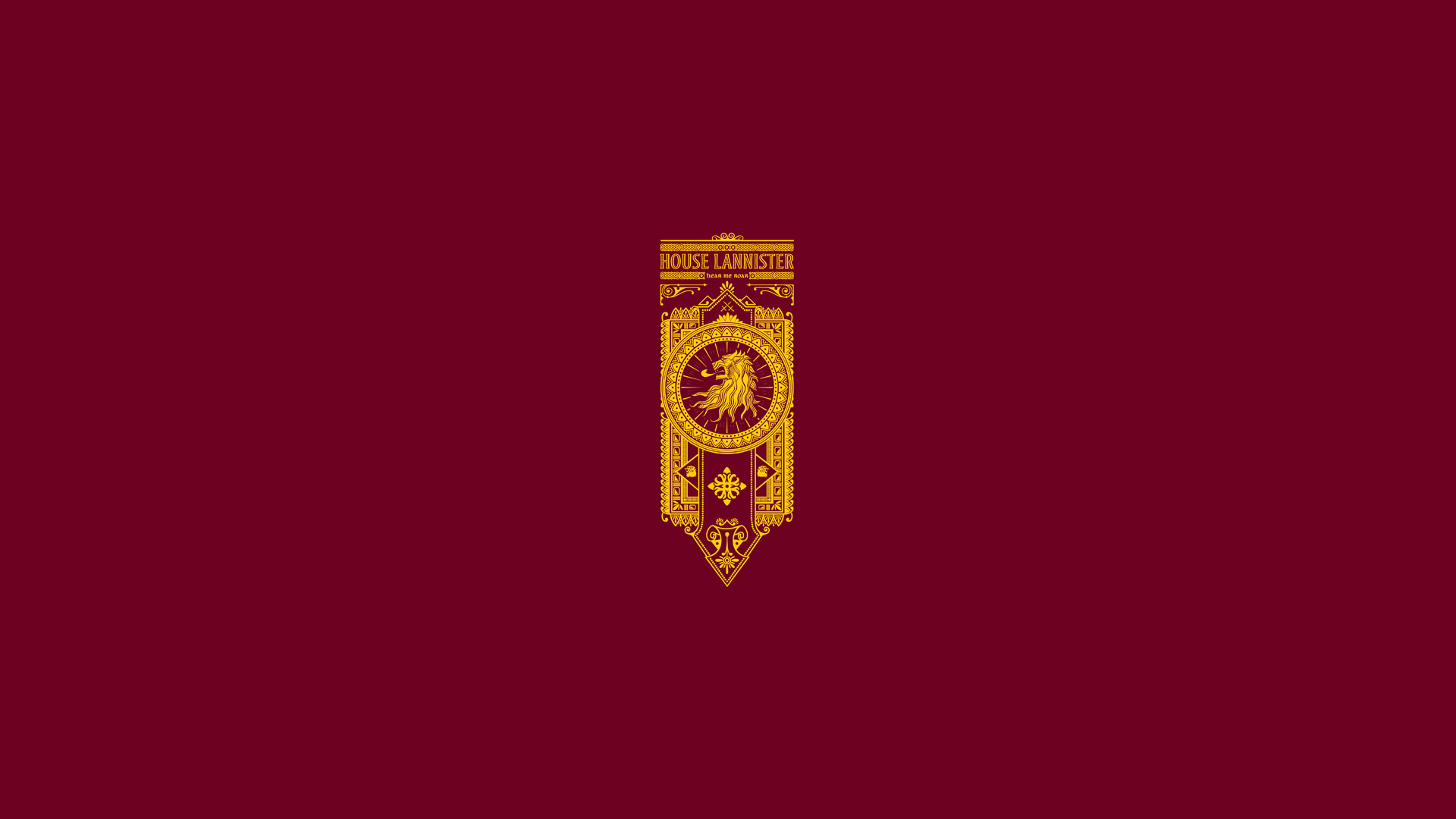 Game Of Thrones Song Ice And Fire Lannister Minimal Wallpaper