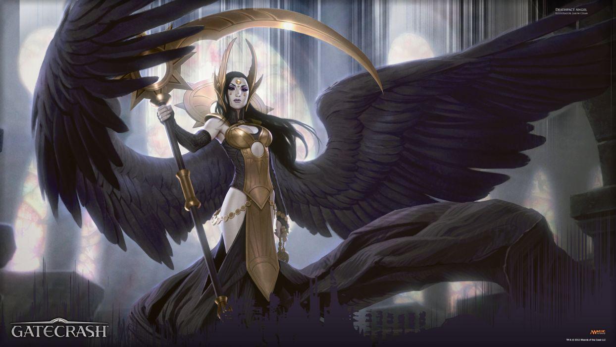 Magic The Gathering Angel Wings wallpaper