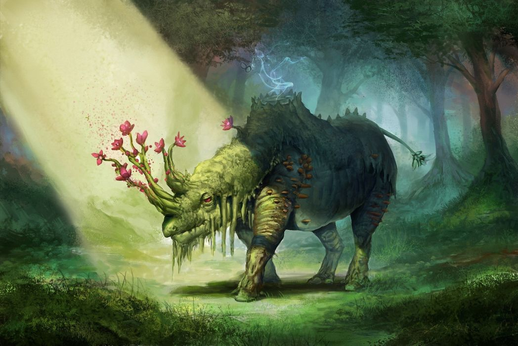 Magical animals Fantasy creature wallpaper   1920x1282 ... - photo#15