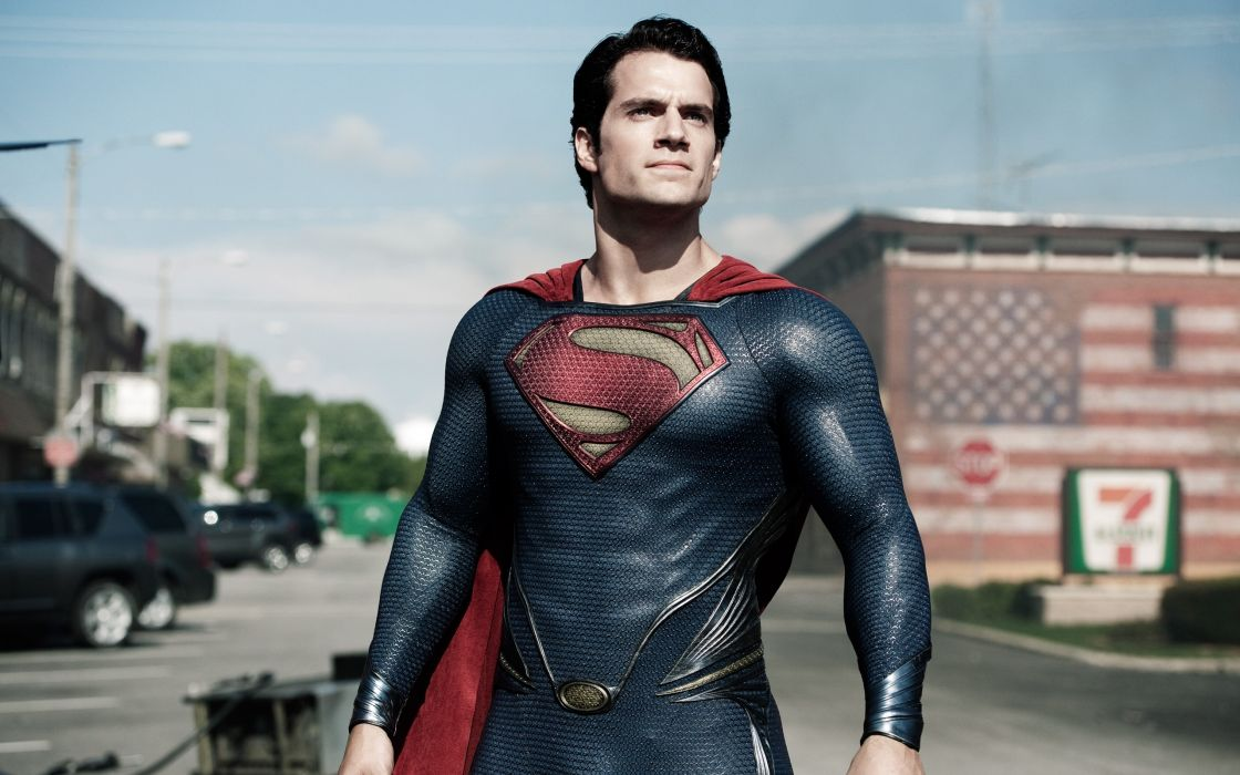Man of Steel Superman Henry Cavill wallpaper
