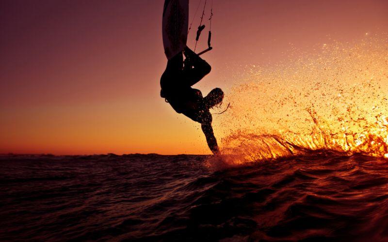ocean surf surfing wave board wallpaper