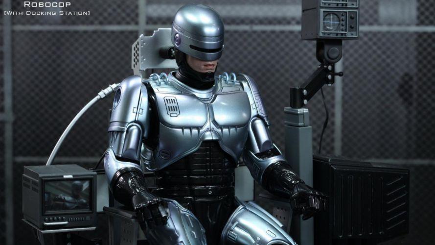 Robocop Robot sci-fi cyborg robot cyborgs wallpaper