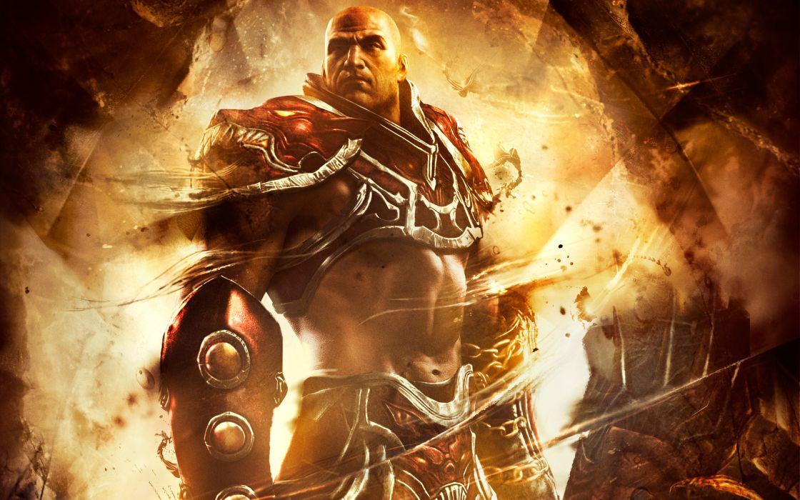Spartan Warrior God of War Ascension wallpaper