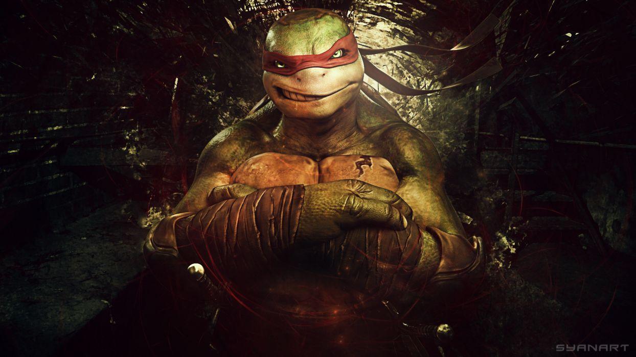 Teenage Mutant Ninja Turtles Warriors Cartoons comics wallpaper