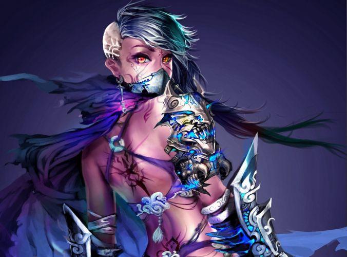 Warriors Armor Fantasy Girls Warrior wallpaper