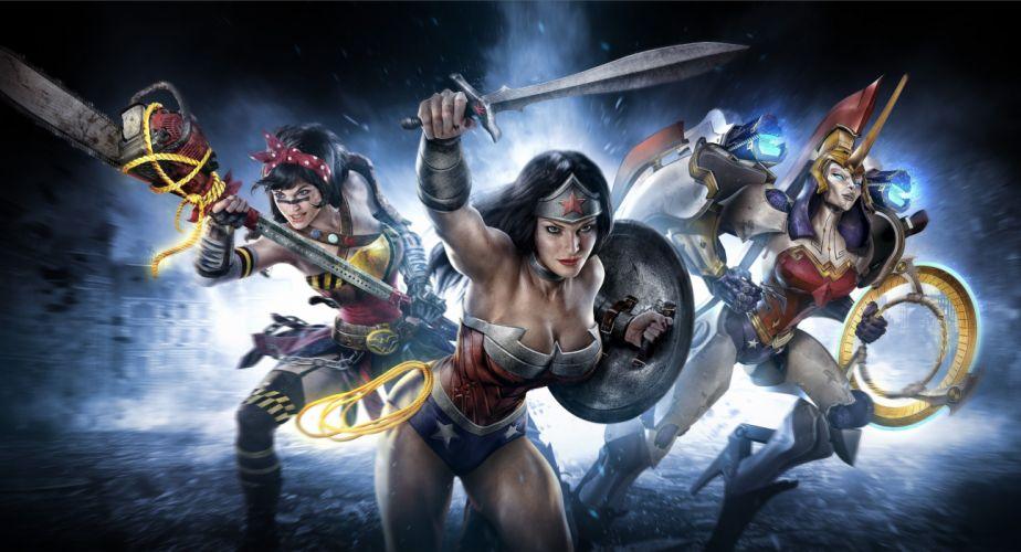 Wonder Woman Infinite Crisis game comics comic wallpaper