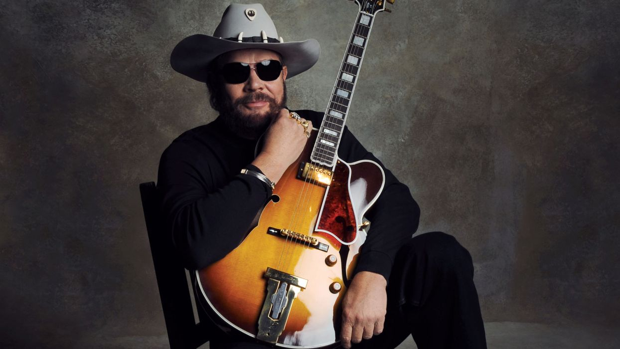 HANK WILLIAMS JR Country Guitar F Wallpaper
