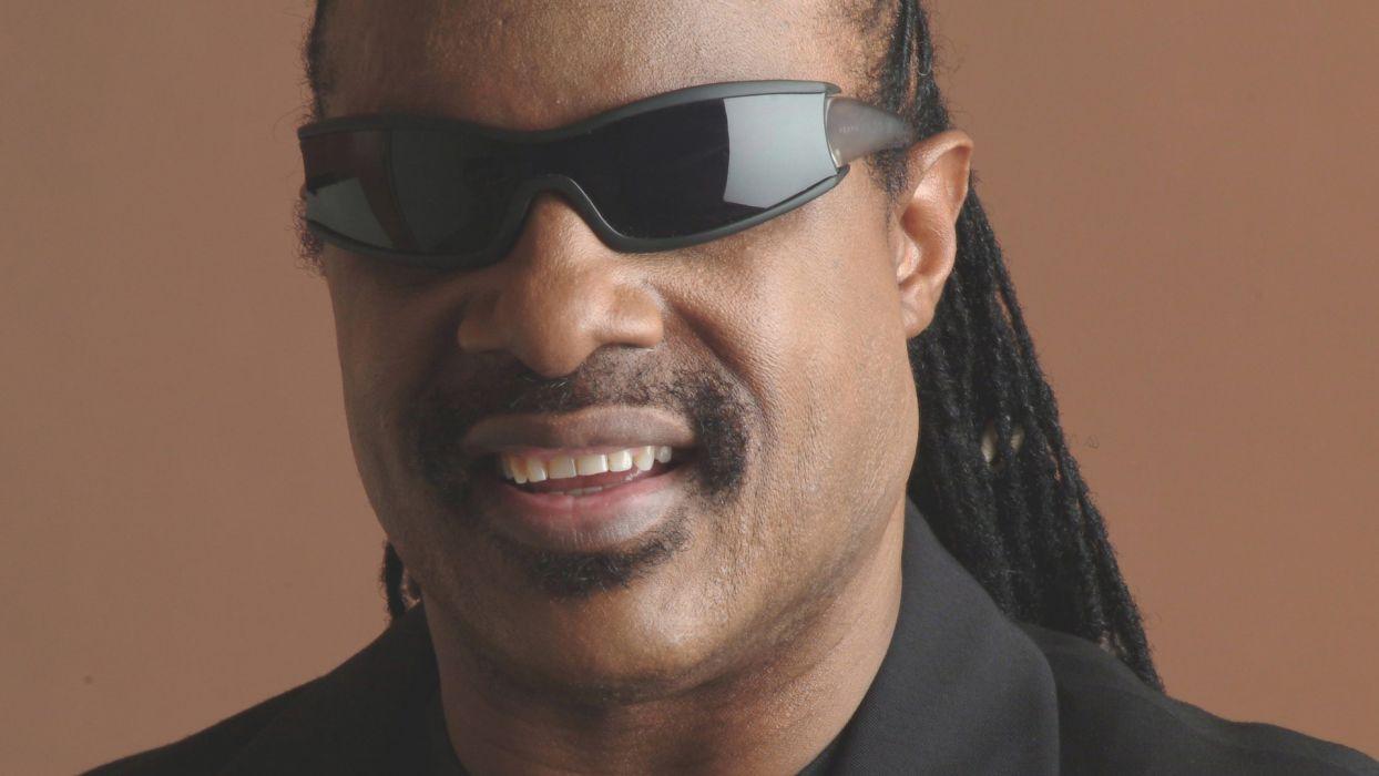 STEVIE WONDER Soul pop R-B funk jazz glasses sunglasses     f wallpaper