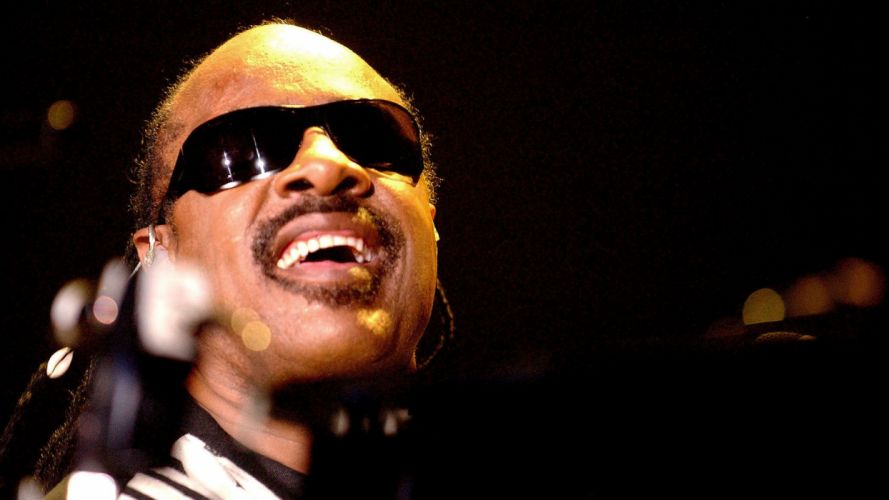 STEVIE WONDER Soul pop R-B funk jazz glasses sunglasses concert wallpaper