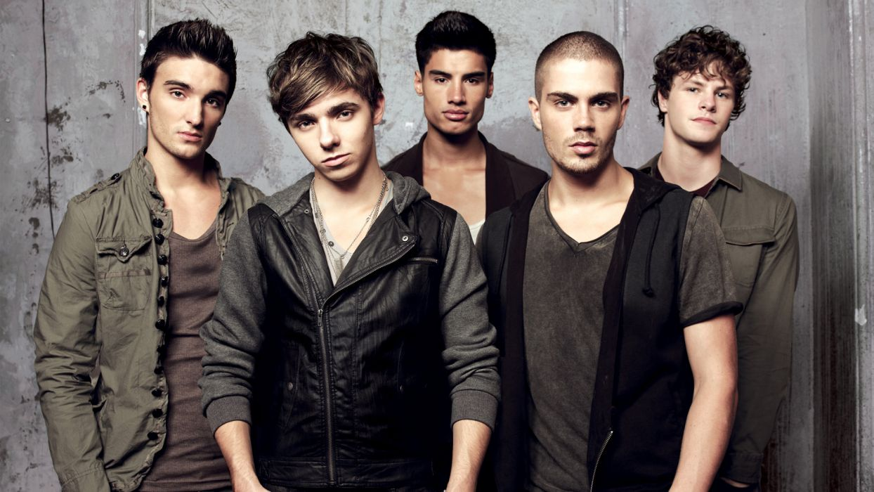 THE WANTED pop boy-band wallpaper