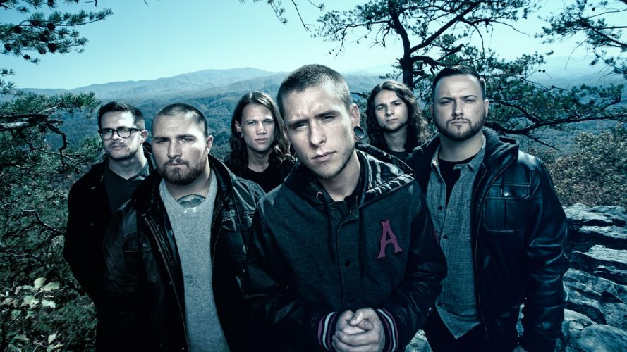 WHITECHAPEL deathcore heavy metal alternative-metal f wallpaper