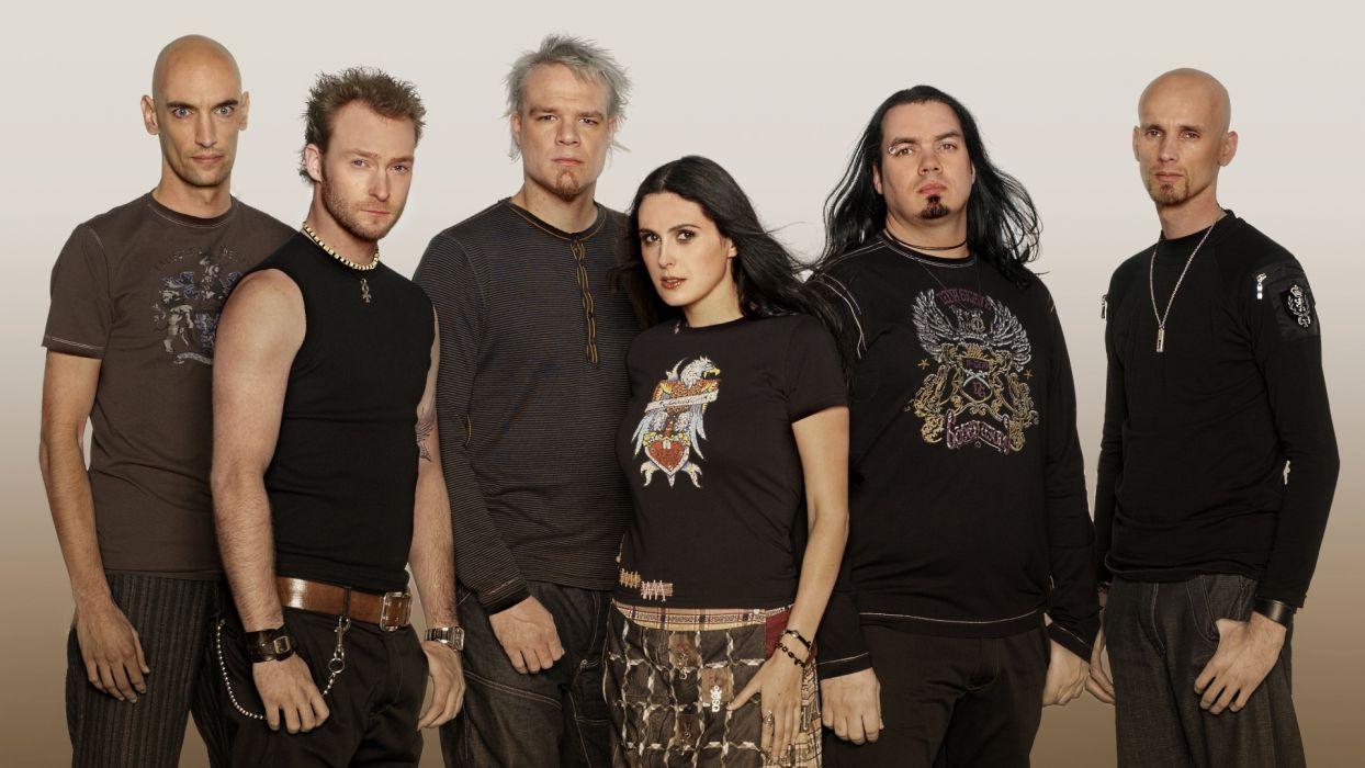 WITHIN TEMPTATION gothic metal symphonic sharon heavy adel    v wallpaper