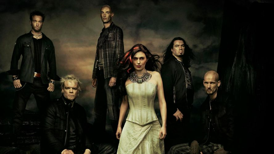 WITHIN TEMPTATION gothic metal symphonic sharon heavy adel d wallpaper