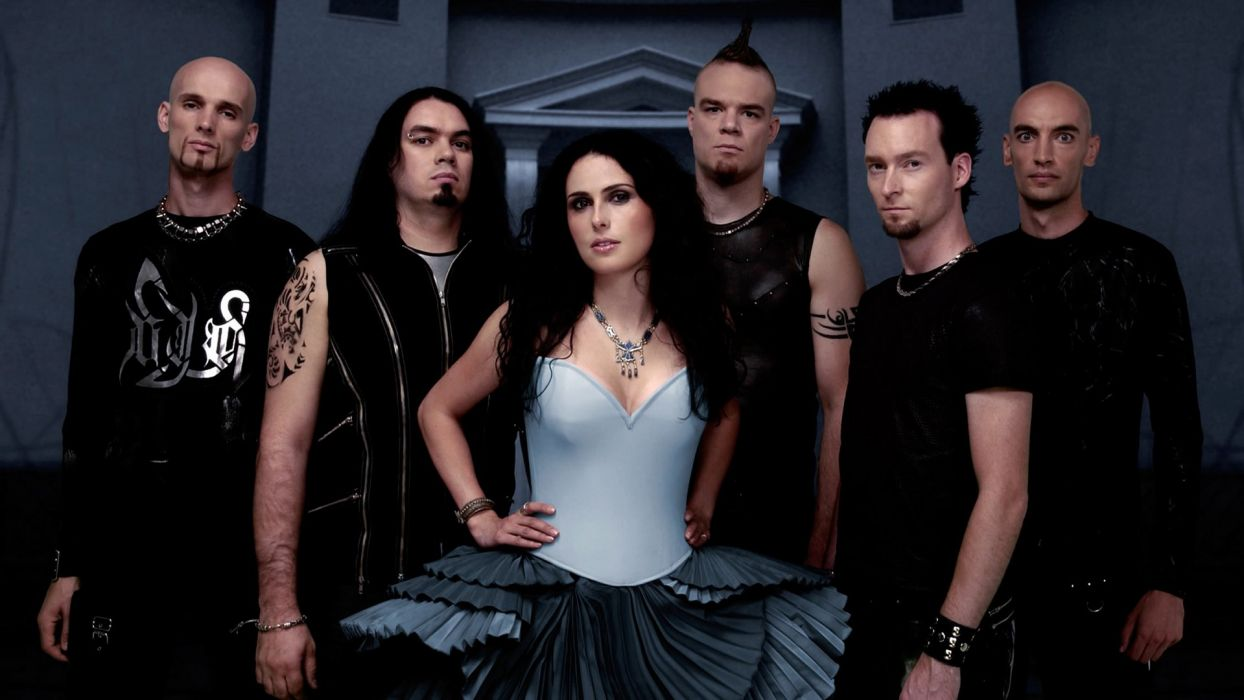 WITHIN TEMPTATION gothic metal symphonic sharon heavy adel    s wallpaper