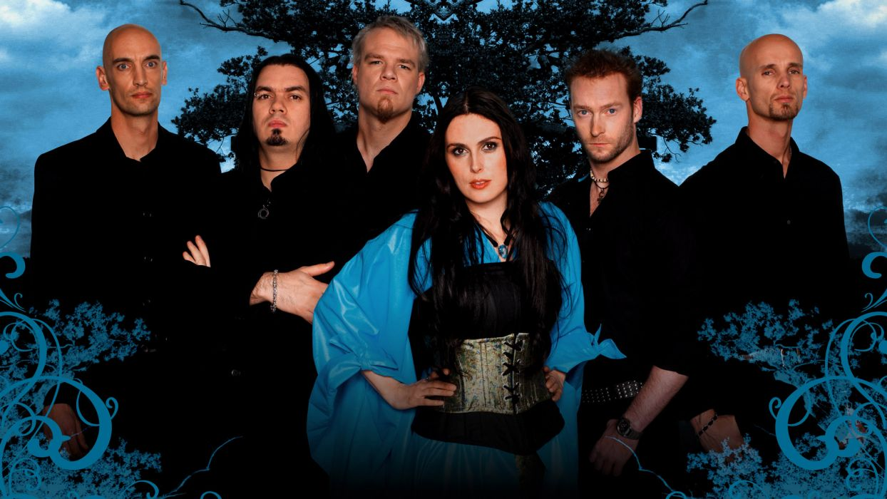 WITHIN TEMPTATION gothic metal symphonic sharon heavy adel    da wallpaper