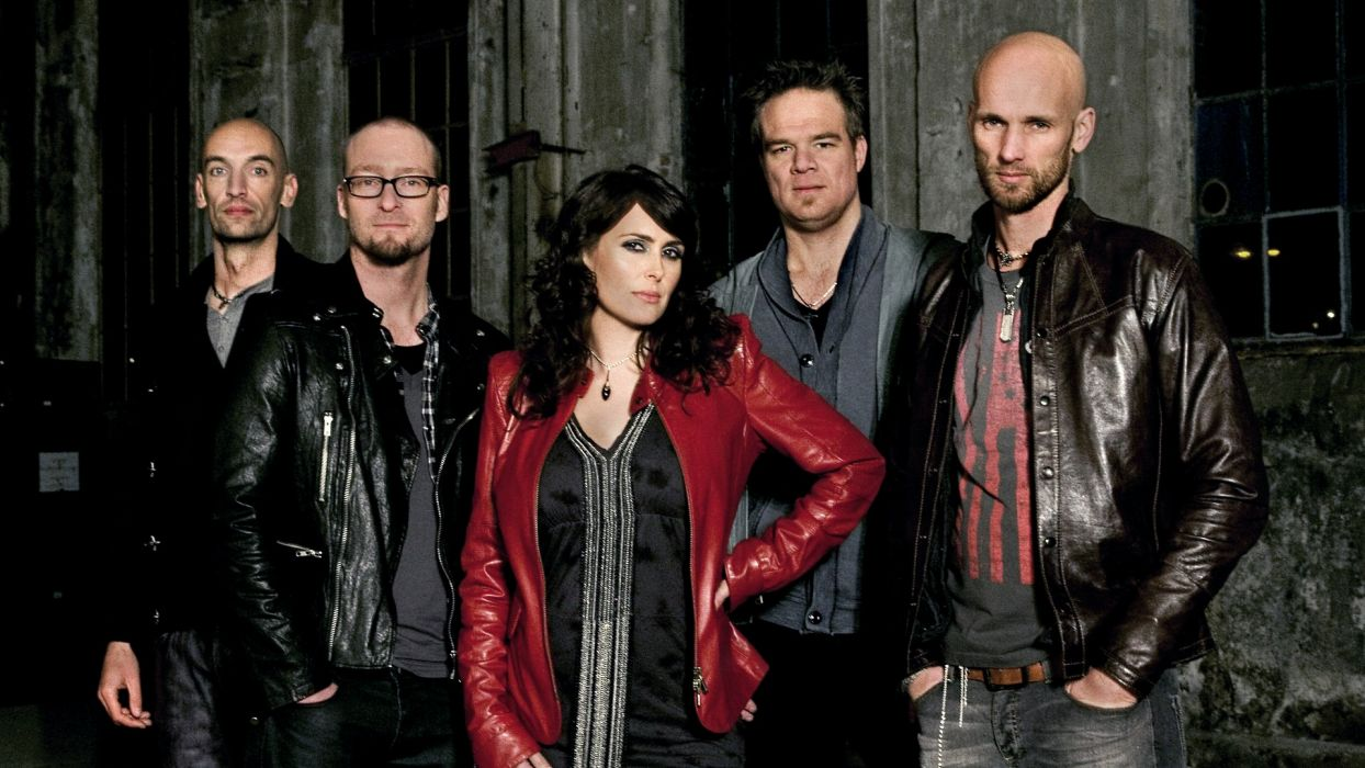 WITHIN TEMPTATION gothic metal symphonic sharon heavy adel   ds wallpaper