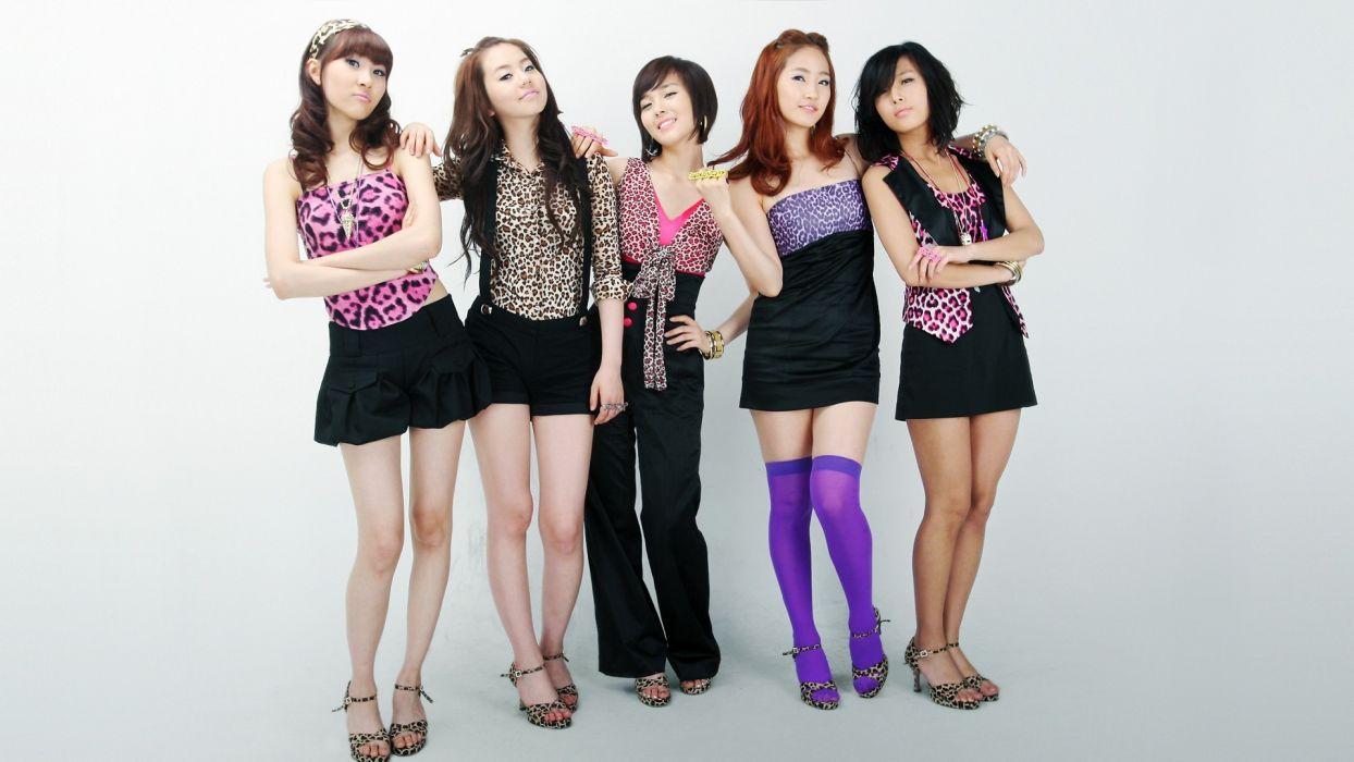 WONDER GIRLS k-pop dance-pop R-B electropop hip hop pop    f wallpaper