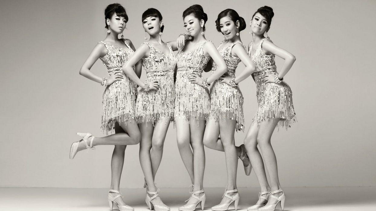 WONDER GIRLS k-pop dance-pop R-B electropop hip hop pop    d wallpaper