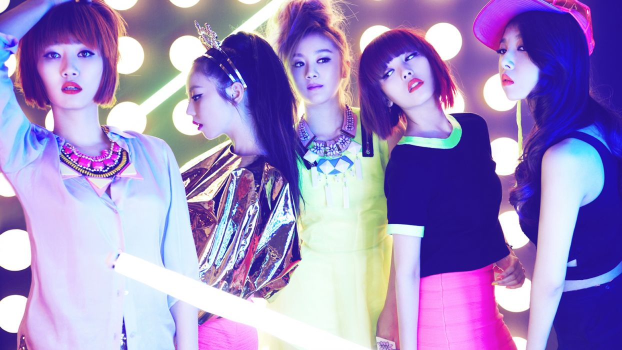 WONDER GIRLS k-pop dance-pop R-B electropop hip hop pop    b wallpaper