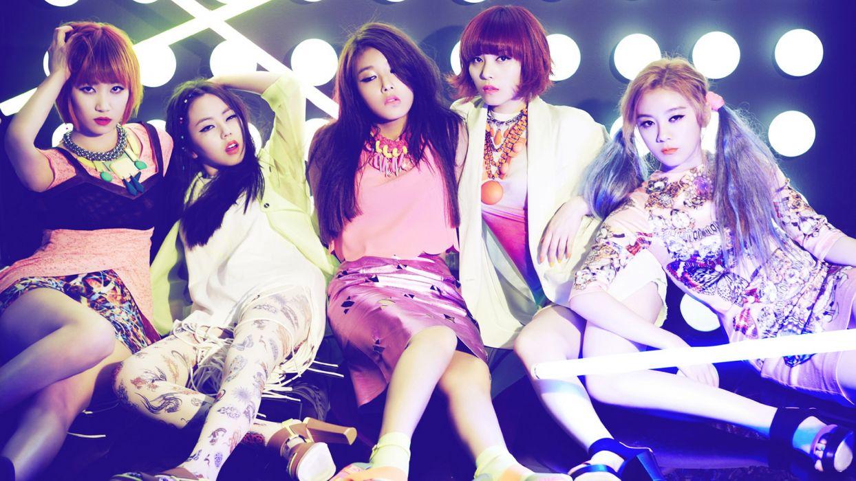 WONDER GIRLS k-pop dance-pop R-B electropop hip hop pop    dc wallpaper