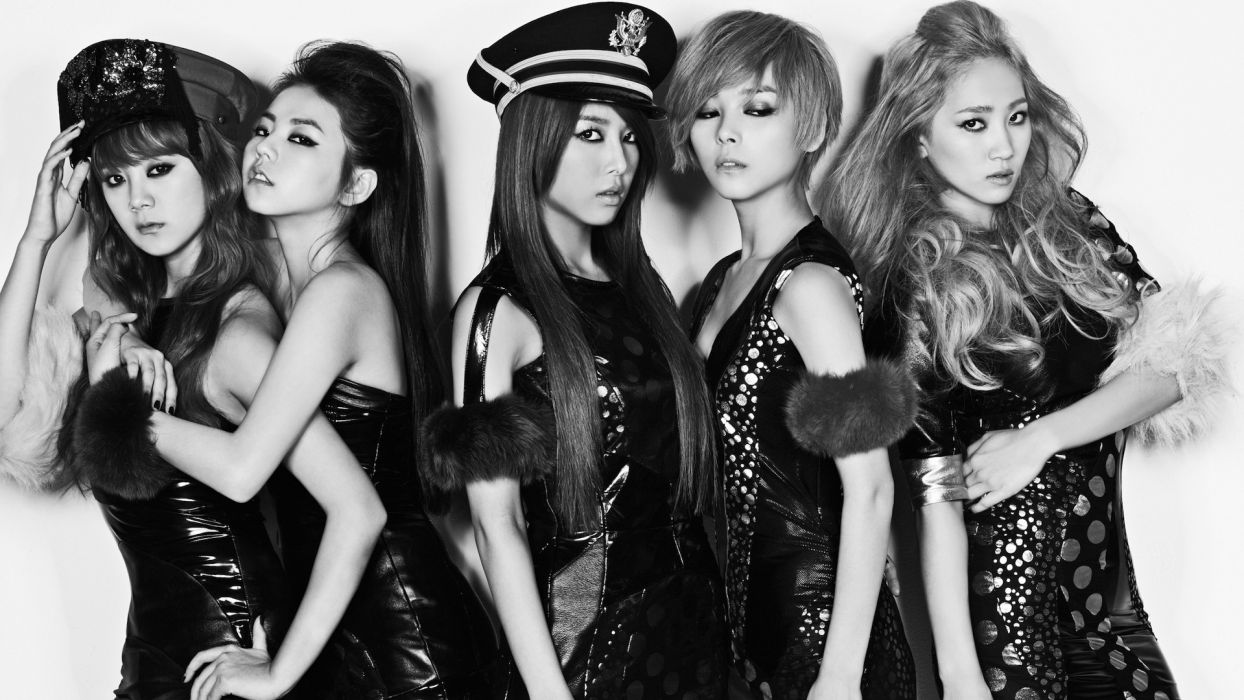 WONDER GIRLS k-pop dance-pop R-B electropop hip hop pop  f wallpaper