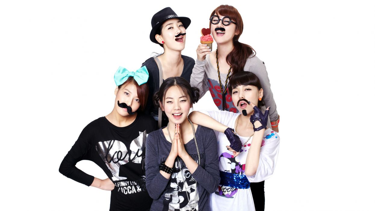 WONDER GIRLS k-pop dance-pop R-B electropop hip hop pop    fs wallpaper