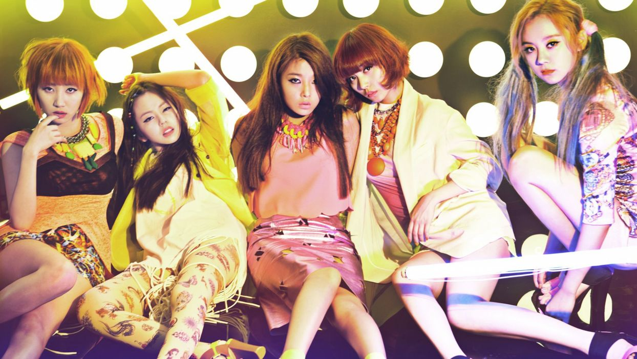 WONDER GIRLS k-pop dance-pop R-B electropop hip hop pop   c wallpaper