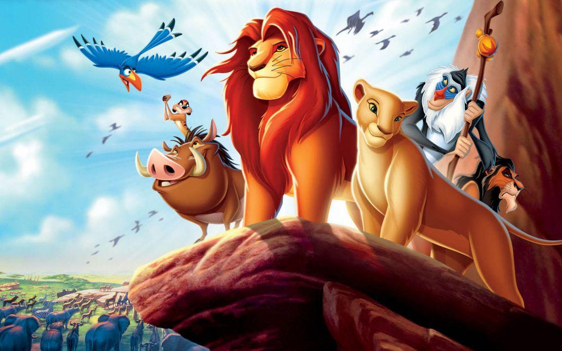 Simba Timon The Lion King wallpaper