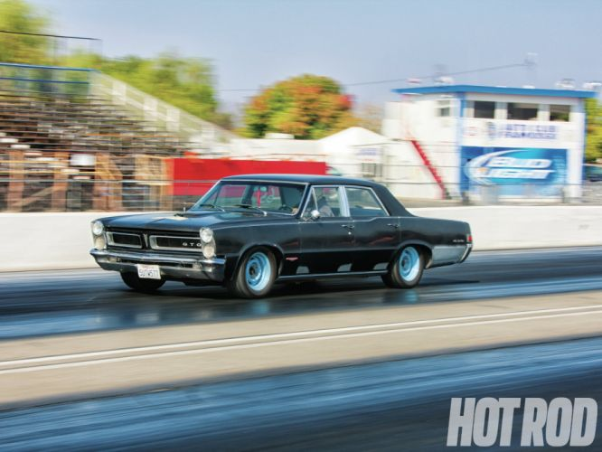 1965 Pontiac Tempest GTO classic muscle hot rod rods race racing drag wallpaper