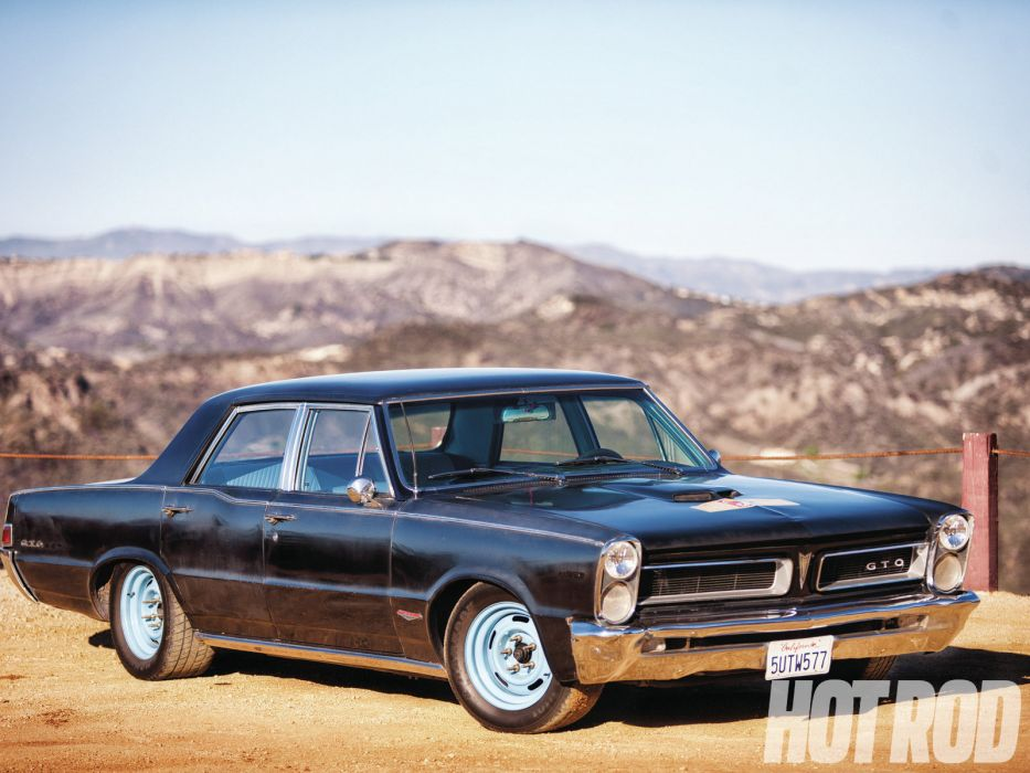 1965 Pontiac Tempest GTO classic muscle hot rod rods wallpaper