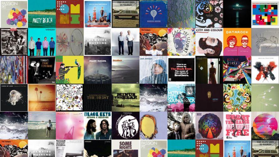 collage tile tiles music fw wallpaper
