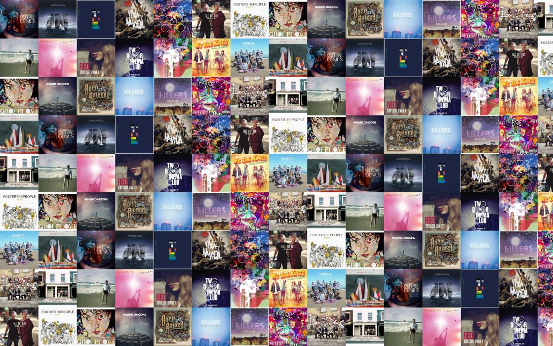 collage tile tiles music d wallpaper