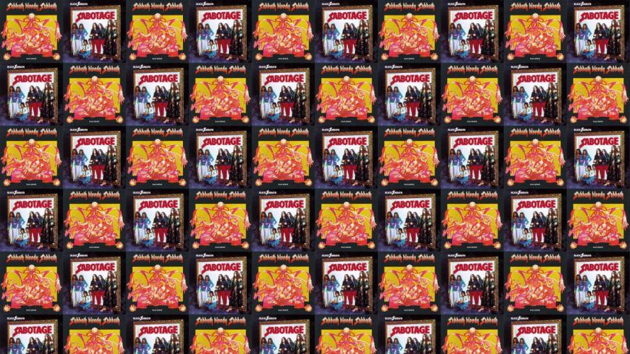 collage tile tiles music black sabbath ozzy wallpaper