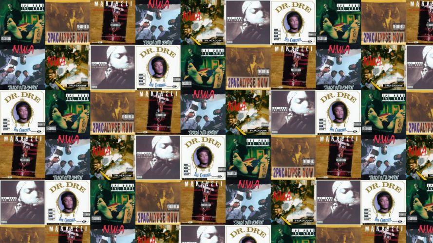 collage tile tiles music rap gangsta wallpaper