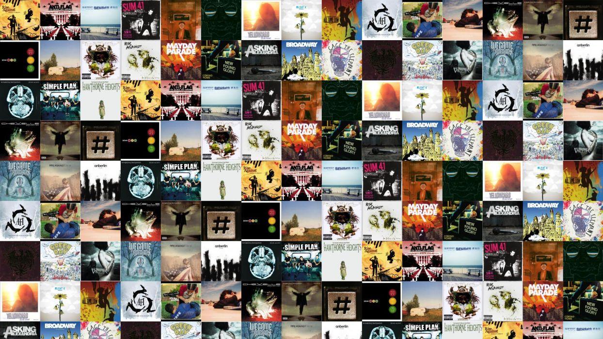 collage tile tiles music q wallpaper