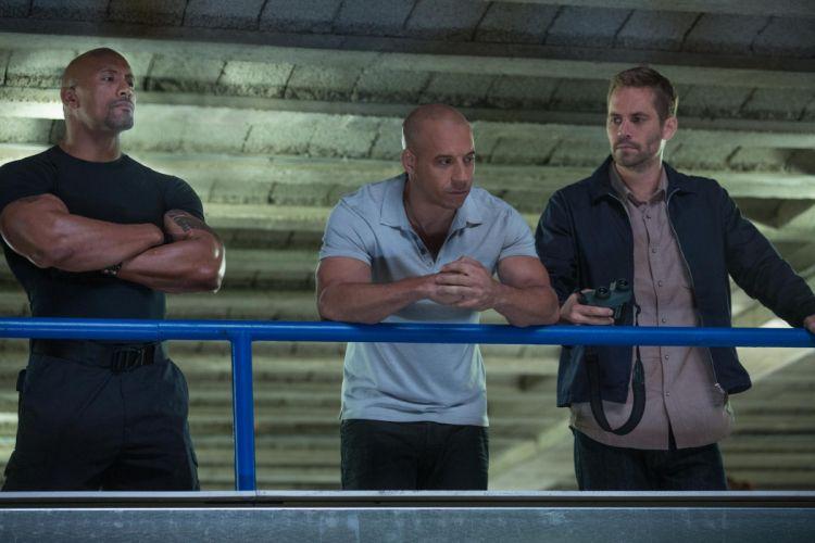Fast Furious 6 Vin Diesel Dwayne Johnson Paul Walker wallpaper