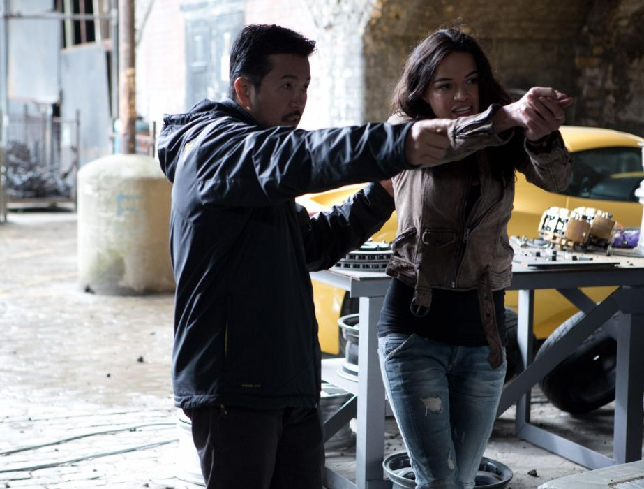Justin Lin Michelle Rodriguez Fast Furious 6 wallpaper