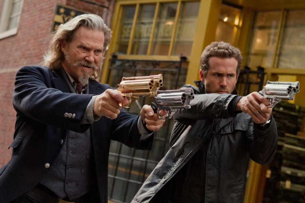 RIPD Jeff Bridges Ryan Reynolds WEAPONS GUNS GUN WEAPON PISTOL wallpaper