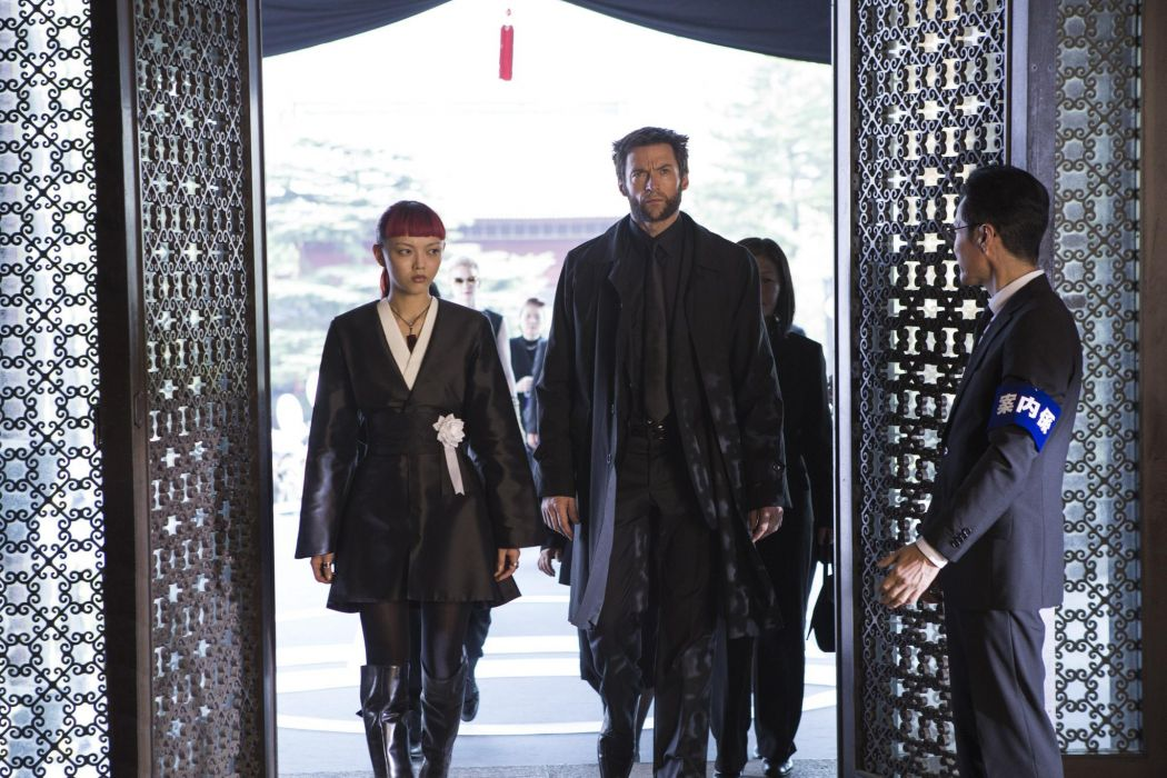 The Wolverine 2013 Hugh Jackman Rila Fukushima superhero  e wallpaper