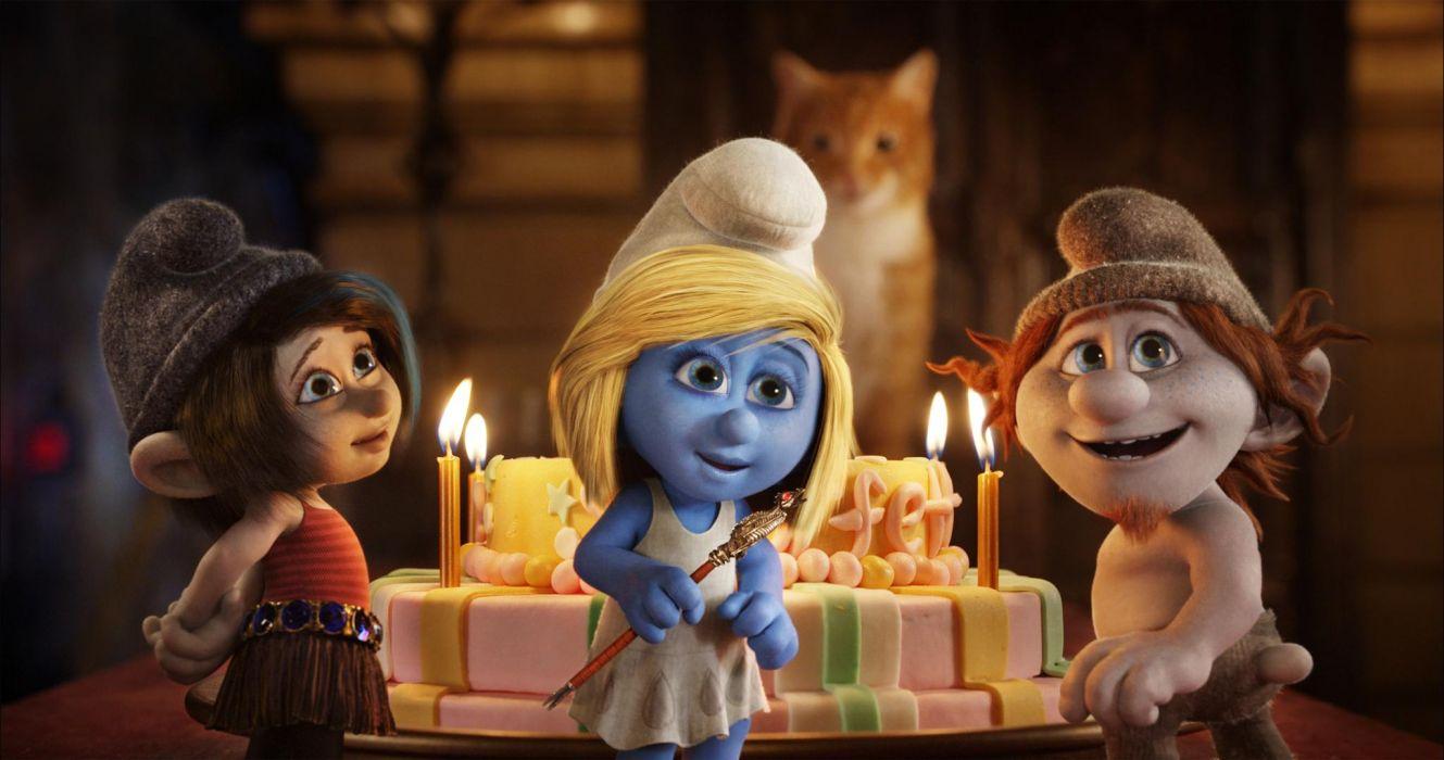 The Smurfs 2 2013 movie movies birthday wallpaper