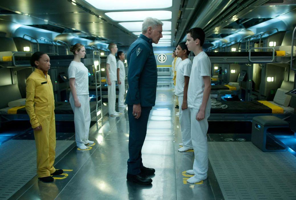 Enders Game 2013 Harrison Ford  f wallpaper