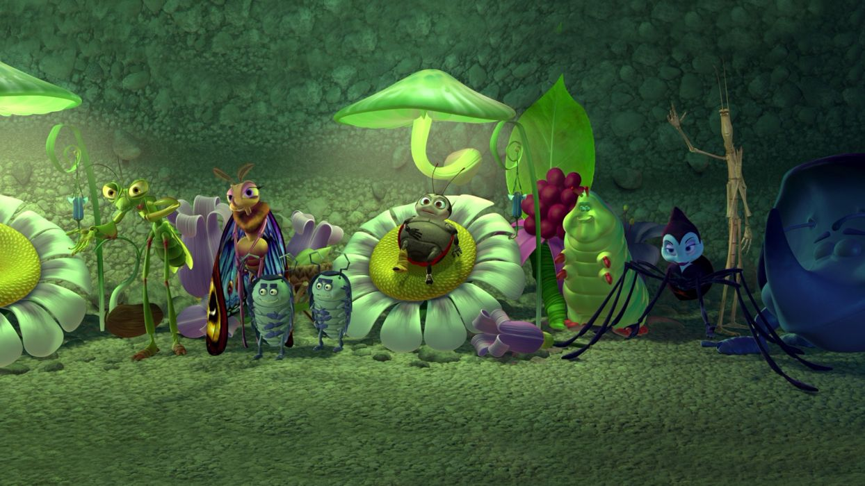 A BUGS LIFE movie movies wallpaper