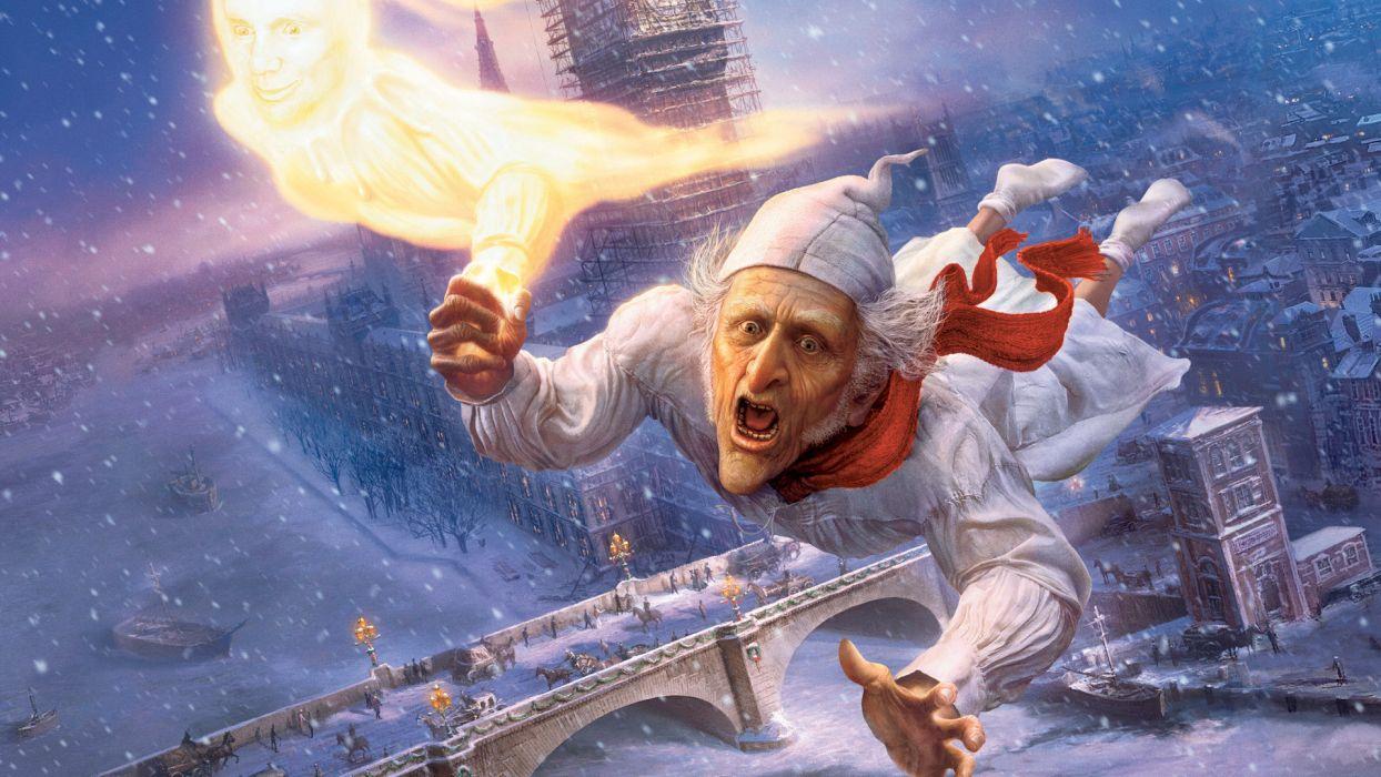 A CHRISTMAS CAROL movie movies     f wallpaper