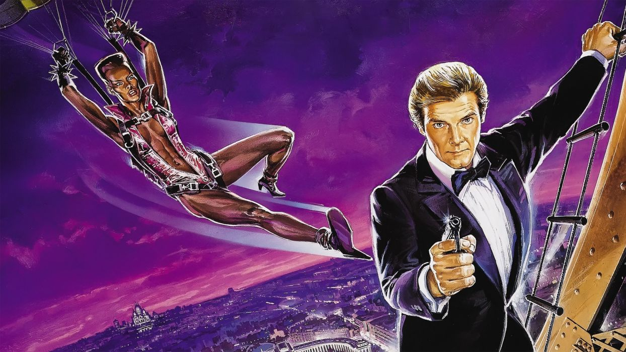 A VIEW TO A KILL james bond 007 wallpaper