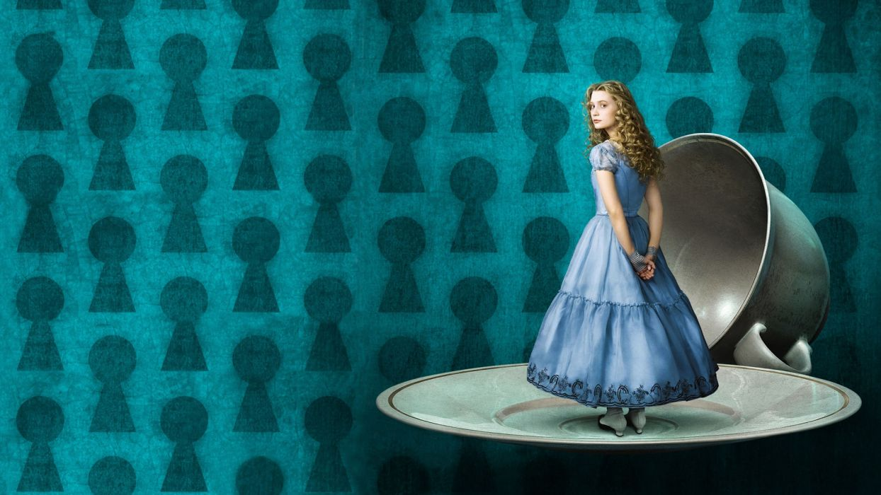 ALICE IN WONDERLAND 2010 fairytale fantasy         g wallpaper