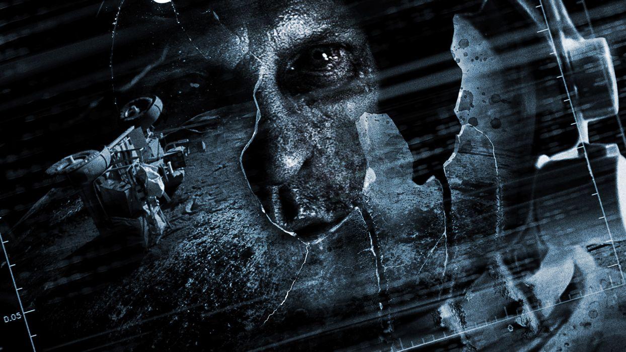 APOLLO 18 sci-fi astronaut dark wallpaper